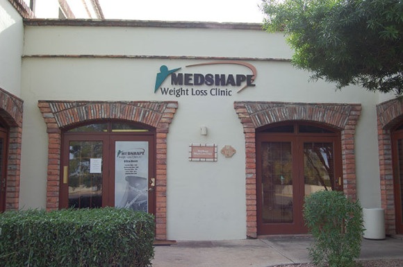 Outside our Mesa, AZ location - Medshape Weight Loss
