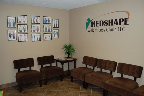 Inside our Mesa, AZ location - MedShape Weight Loss