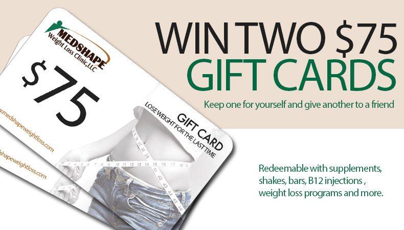 Win Gift Cards From MedShape Worth $75 | Ends September 1st 2013